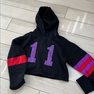 Lf Emma and Sam brand Crop hoodie